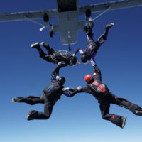 Skydiving Fun With Friends
