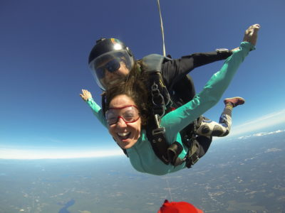 first time skydiving tips