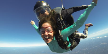 Accelerated Freefall Training Course | First Jump