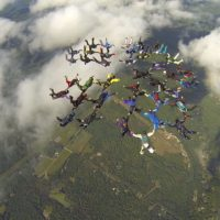 Skydivers Group Photo